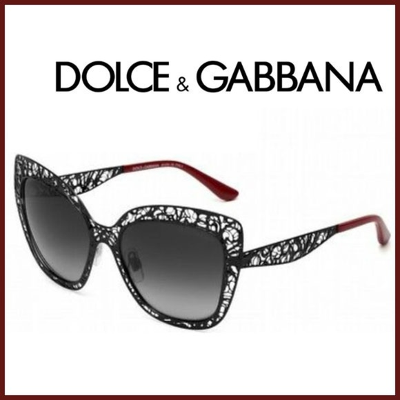 feb5fdc4367b Dolce & Gabbana Accessories | Dolce Gabbana 2164 Sunglasses Cateye ...